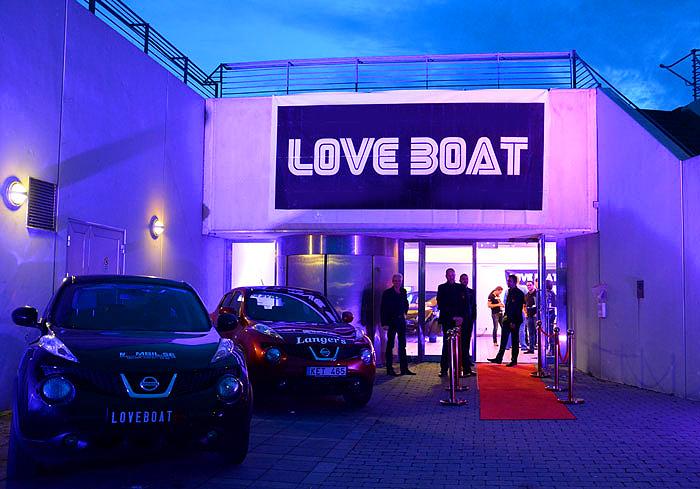 LoveBoat på Luftkastellet