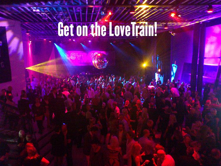 Get on the LoveTrain!